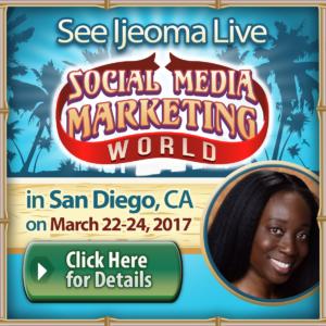Ijeoma Eleazu Social Media Marketing World 2017