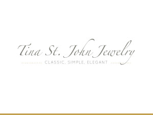 tina st. john jewelry logo