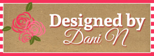 designed by dani n logo, etsy shop designed by dani n