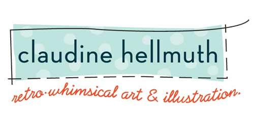 claudine hellmuth etsy shop logo