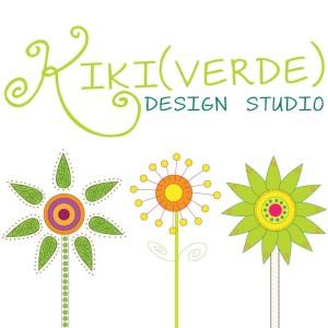 KikiVerde logo, etsy shop kikiverde