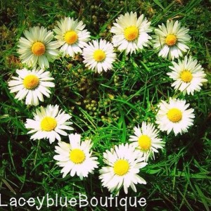 laceyblue boutique etsy shop logo