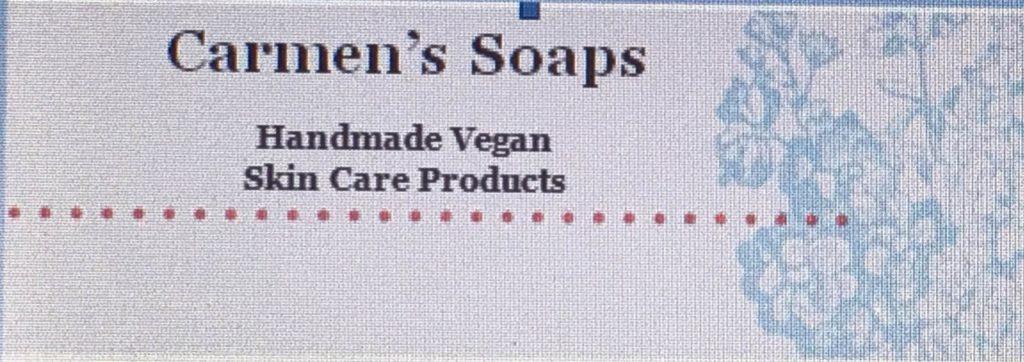 etsy shop carmen's soaps