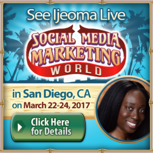 Ijeoma Eleazu Social Media Marketing World 2017