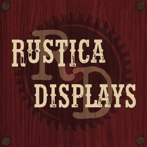 rustic displays etsy