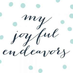 my joyful endeavors etsy
