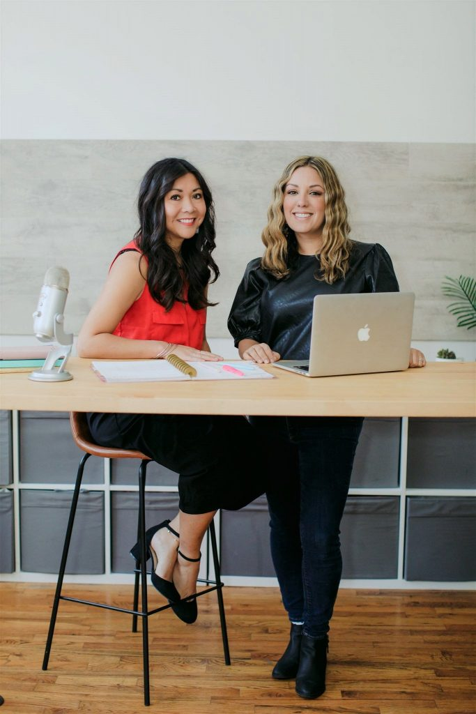 The Product Boss Ladies - Minna Khounlo-Sithep and Jacqueline Snyder.